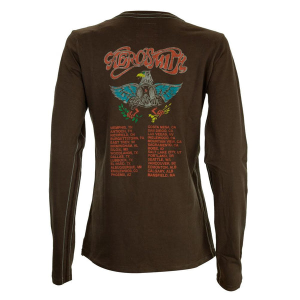 Aerosmith - Aero Force One Premium Juniors Long Sleeve T-Shirt