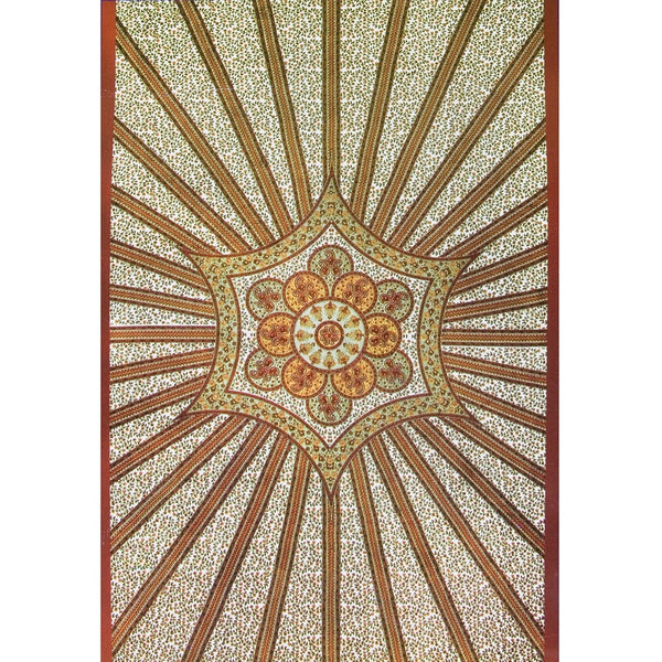 Red Flowering Star Tapestry