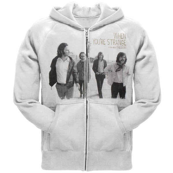 The Doors - When Youre Strange Zip Hoodie