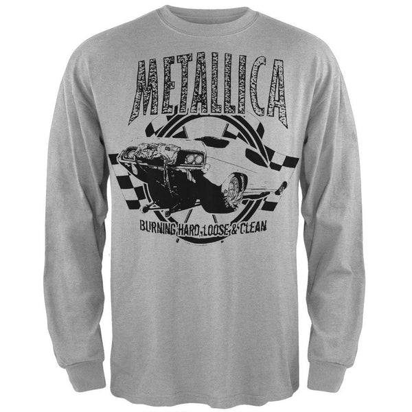 Metallica - Burning Hard Long Sleeve T-Shirt