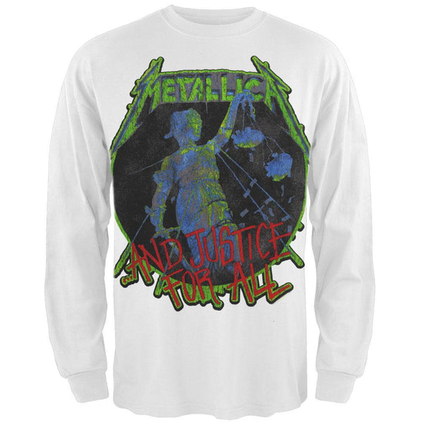 Metallica - Retro Justice Long Sleeve T-Shirt