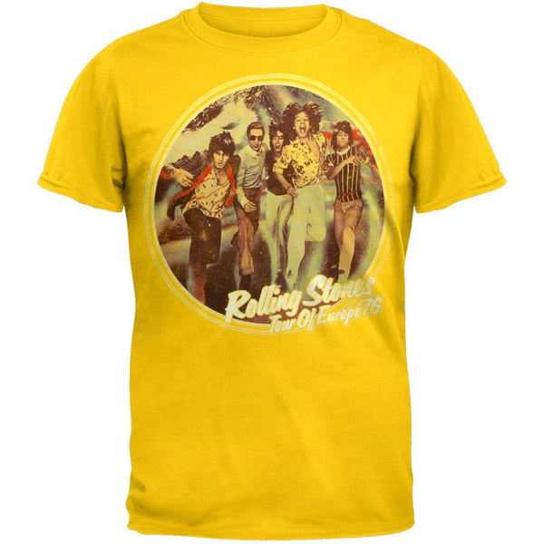 Rolling Stones - Tour Of Europe 76 T-Shirt