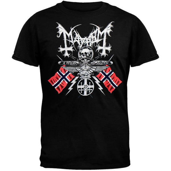 Mayhem - 25 Years/Coat Of Arms T-Shirt