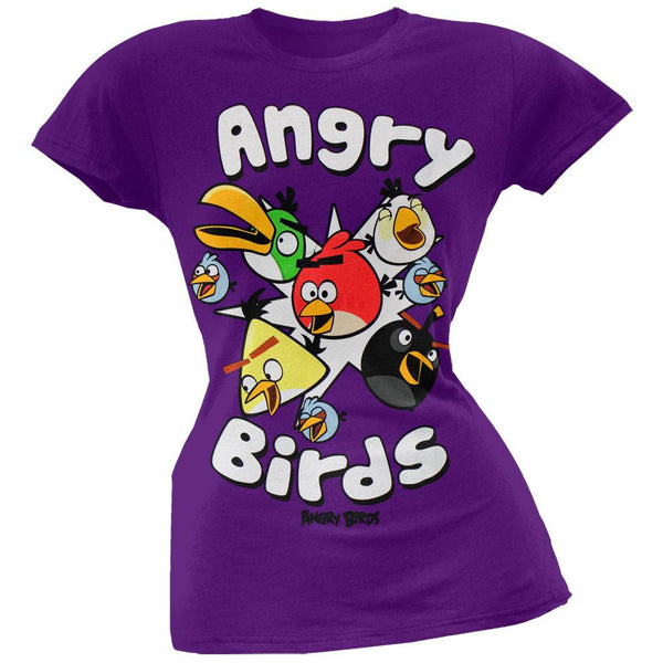 Angry Birds - Happy Birds Juniors T-Shirt