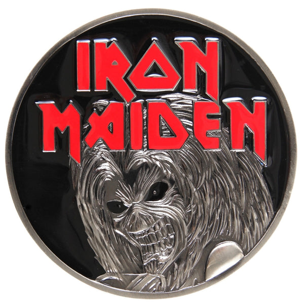 Iron Maiden - Killers Black Belt Buckle