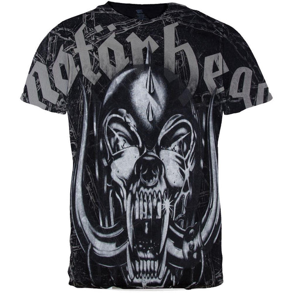 Motorhead - Dog Skull All-Over T-Shirt