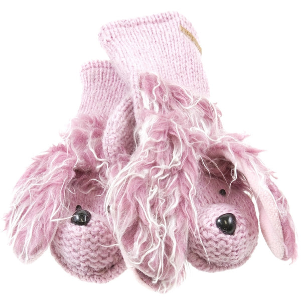 Precious The Poodle Kids Knit Mittens