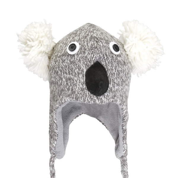 Kirby The Koala Kids Peruvian Knit Hat