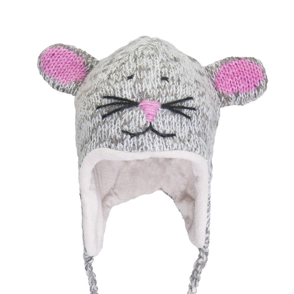 Mimi The Mousey Peruvian Knit Hat
