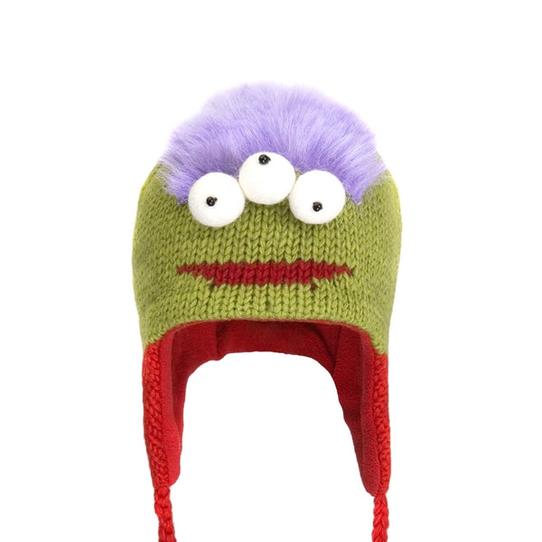 Al The Alien Peruvian Kids Knit Hat