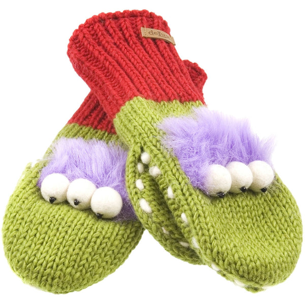 Al The Alien Kids Knit Mittens