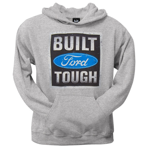 Ford - Built Tough Stamp Pullover Grey Hoodie