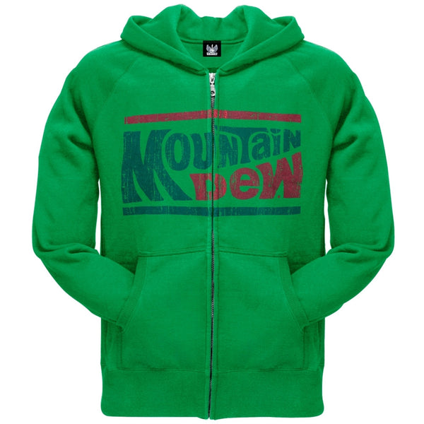 Mountain Dew - Distressed Classic Logo Zip Hoodie