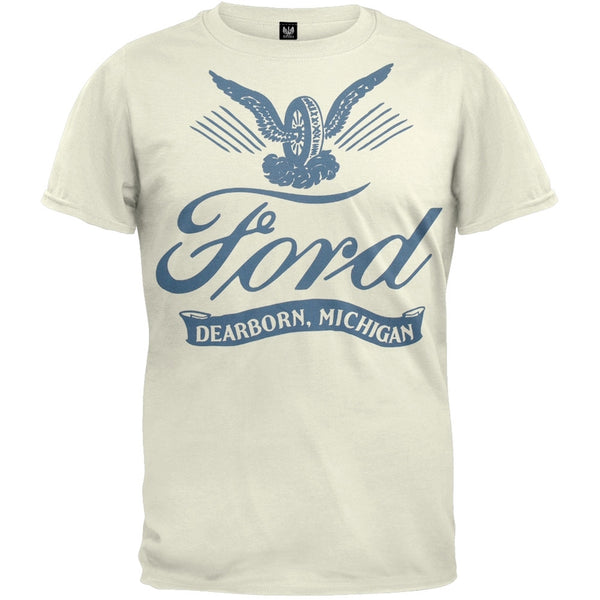 Ford - Winged Tire Logo T-Shirt