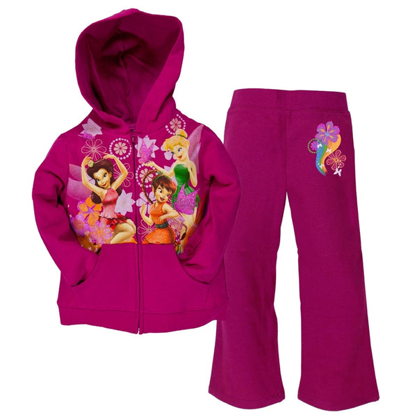 Disney Fairies - Rainbow Fairies Girls Juvy Jogging Set