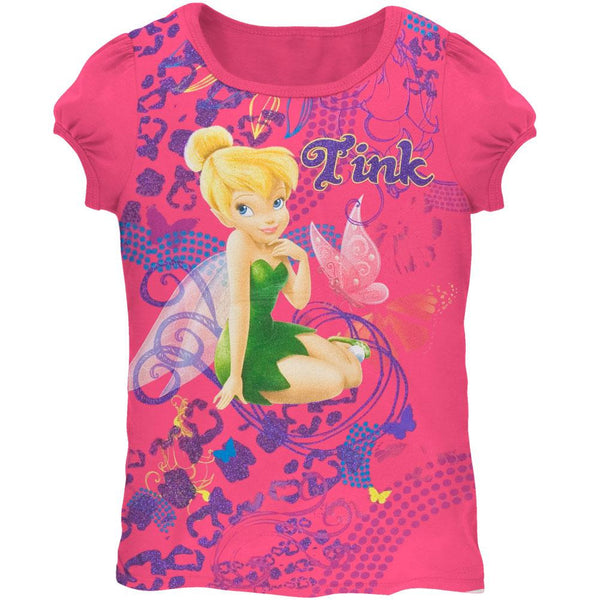 Tinkerbell - Abstract Tink Girls Juvy T-Shirt