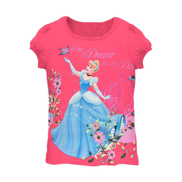 Disney Princess - Reaching Dream Juvy Girls T-Shirt