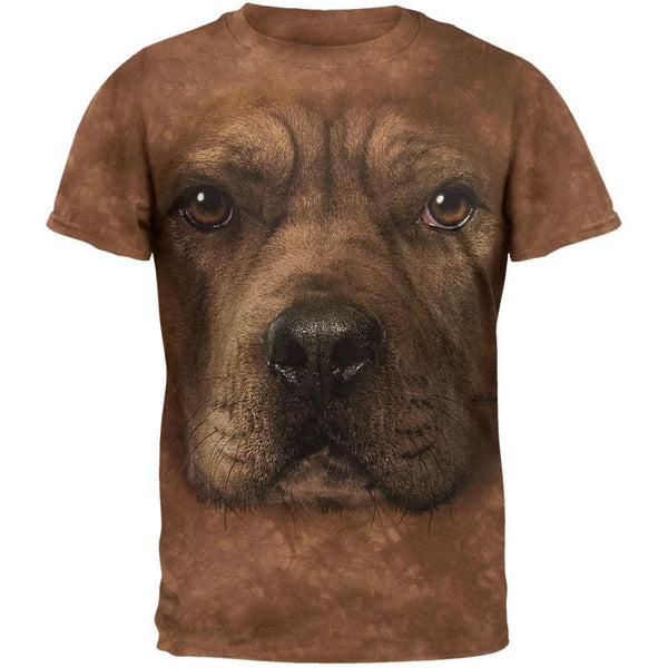 Pitbull Face T-Shirt