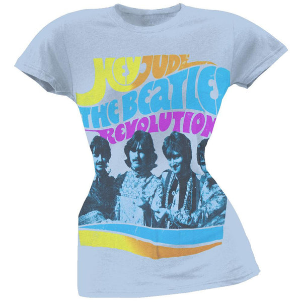 The Beatles - Hey Jude Revolution Juniors T-Shirt