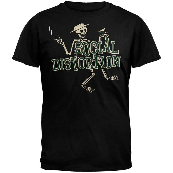 Social Distortion - Letterman T-Shirt
