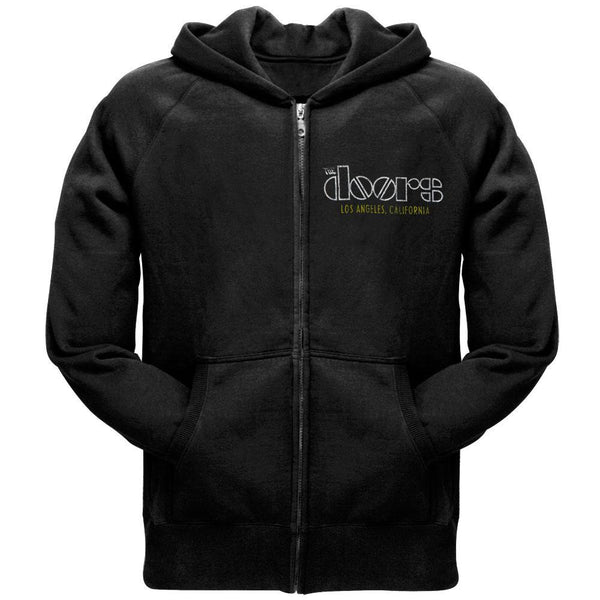 Doors - Los Angeles Black Zip Hoodie
