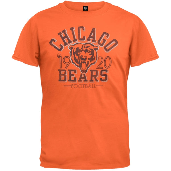 Chicago Bears - Logo Fadeaway Premium T-Shirt