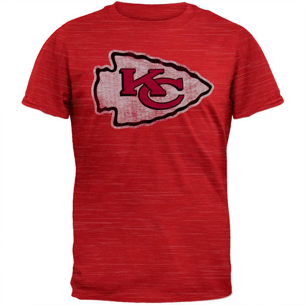 Kansas City Chiefs - Logo Scrum Premium T-Shirt
