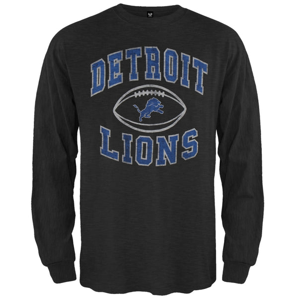 Detroit Lions - Logo Scrum Premium Long Sleeve T-Shirt