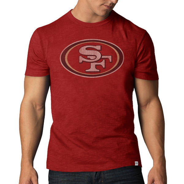 San Francisco 49ers - Logo Scrum Premium T-Shirt