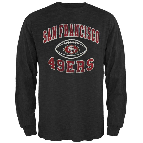 San Francisco 49ers - Logo Scrum Premium Long Sleeve T-Shirt