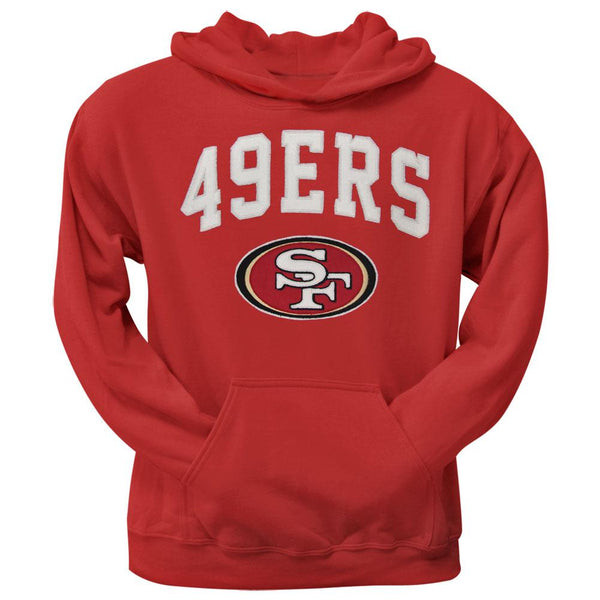 San Francisco 49ers - Logo Scrimmage Premium Pullover Hoodie