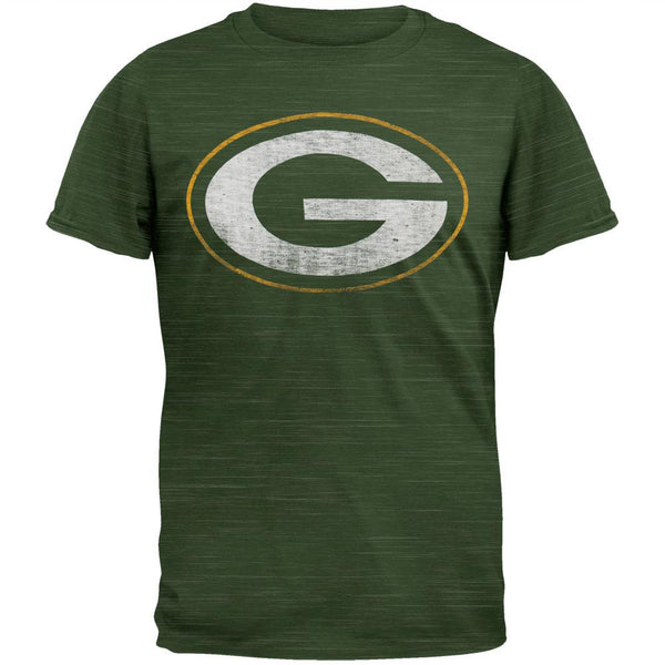 Green Bay Packers - Logo Scrum Premium T-Shirt