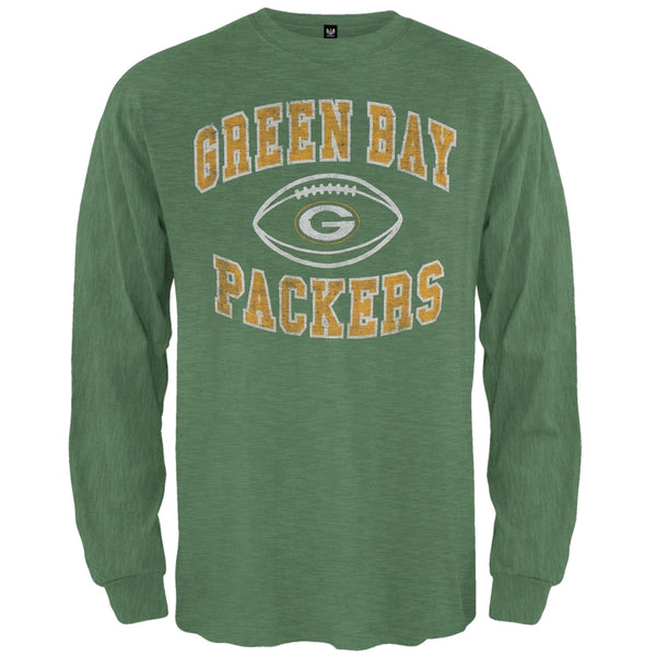 Green Bay Packers - Logo Scrum Premium Long Sleeve T-Shirt