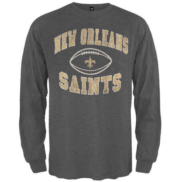 New Orleans Saints - Logo Scrum Premium Long Sleeve T-Shirt