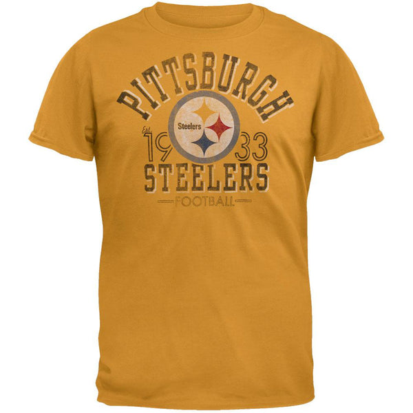 Pittsburgh Steelers - Logo Fadeaway Premium T-Shirt