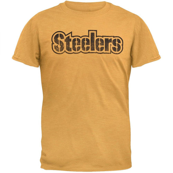 Pittsburgh Steelers - Logo Scrum Legacy Premium T-Shirt