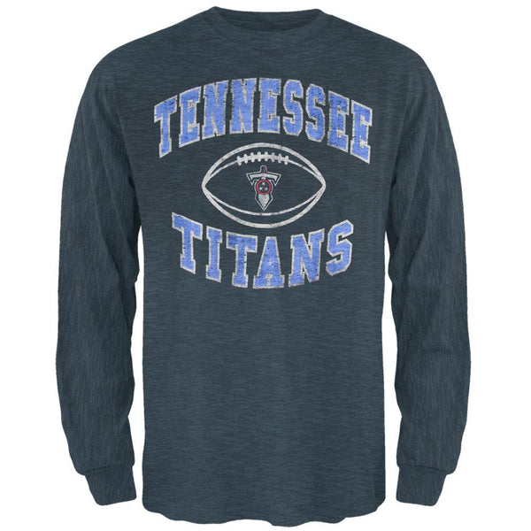 Tennessee Titans - Logo Scrum Premium Long Sleeve T-Shirt