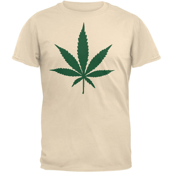 Pot Leaf Khaki T-Shirt