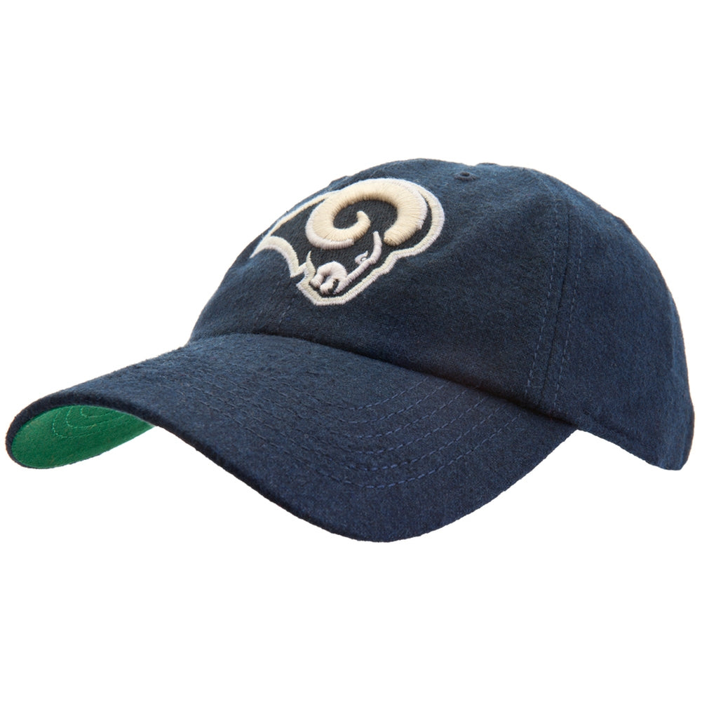 4034b17ad0105 St Louis Rams - Logo Brooksby Adjustable Baseball Cap – OldGlory.com