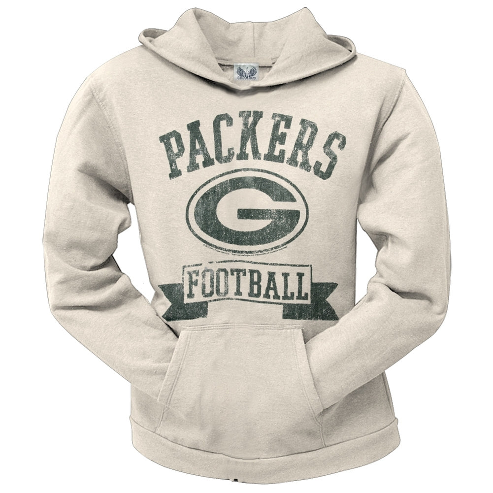 25c22ae25 Green Bay Packers - Old School Logo Juniors Hoodie – OldGlory.com