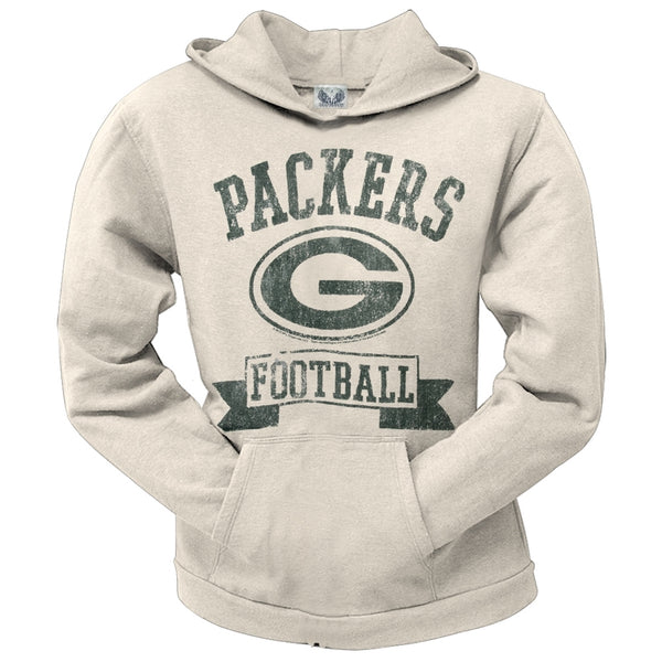 Green Bay Packers - Old School Logo Juniors Hoodie
