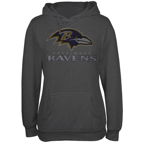 Baltimore Ravens - Old School Logo Juniors Hoodie