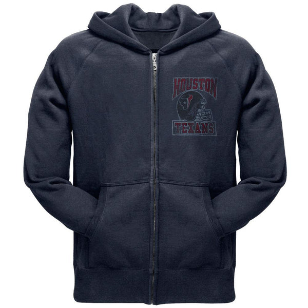 Houston Texans - Old School Logo Juniors Zip Hoodie
