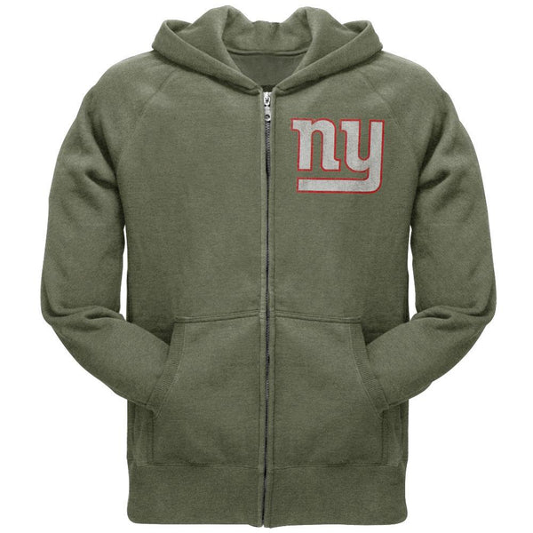 New York Giants - Old School Logo Zip Hoodie