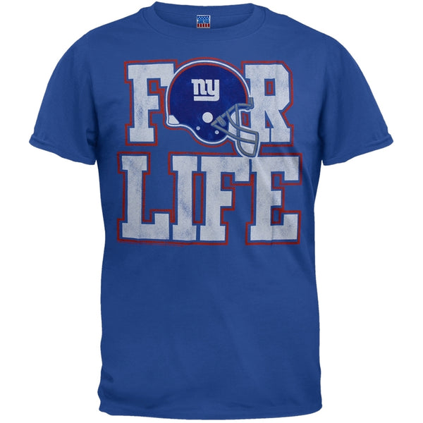 New York Giants - For Life Soft T-Shirt