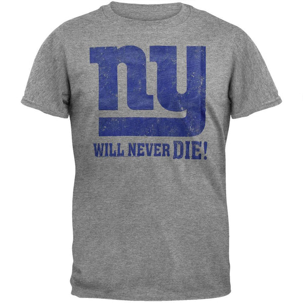 New York Giants - Will Never Die Soft T-Shirt