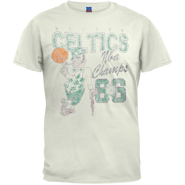 Boston Celtics - '86 NBA Champs Soft T-Shirt