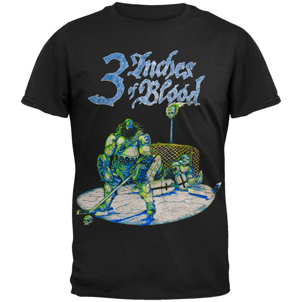 3 Inches Of Blood - Hockey T-Shirt