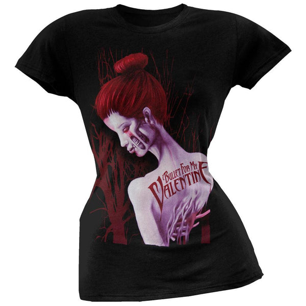 Bullet For My Valentine - Dead Red Juniors T-Shirt