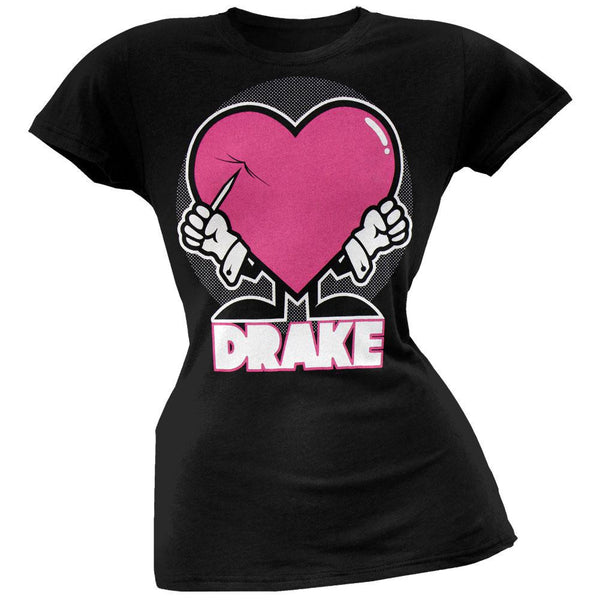 Drake - Puncture Heart Juniors T-Shirt